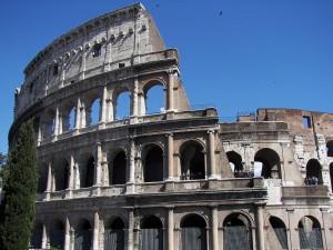 Koloseum v Římu.