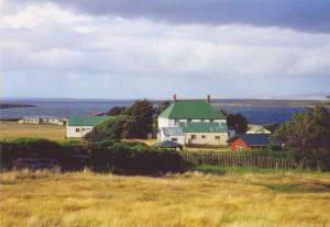 Východní část souostroví Fakland. Autorem snímku je Apcbg.
