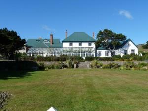Dům guvernéra Falkland. Autorem snímku je Michael Clarke.