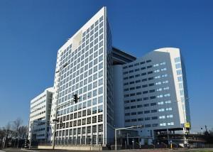 Budova Mezinárodního trestního soudu v Haagu. Autorem snímku je Vincent van Zeijst.