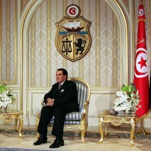 V čele Tuniska stál prezident Ben Ali od roku 1987.