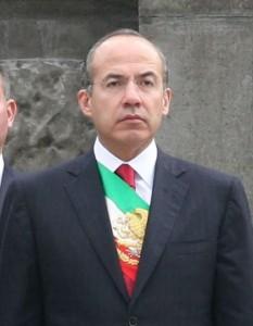 Exprezident Felipe Calderon