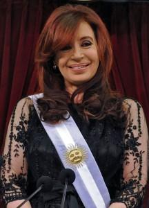 Prezidentka Argentiny Cristina Fernandez de Kirchner.