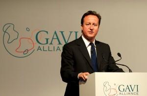 Současný premiér Velké Británie David Cameron. Autorem je Ben Fisher.