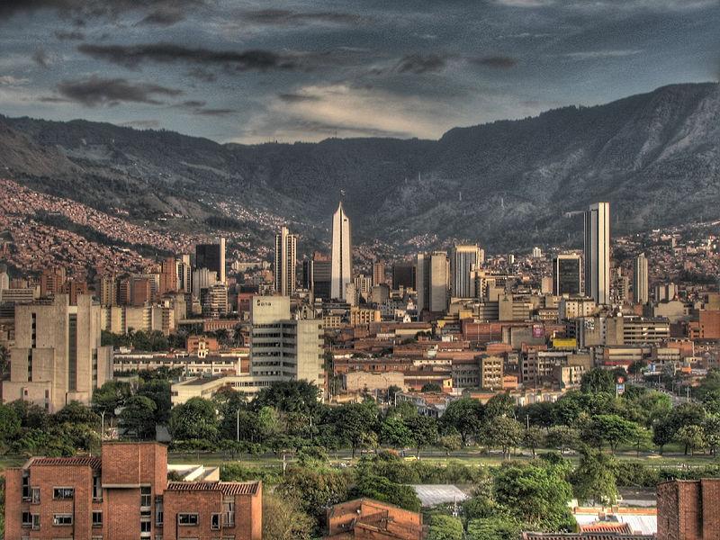 Průmyslové město Medellin