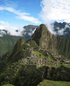 Ztracené město Machu Picchu. Autorem snímku je Icelight.