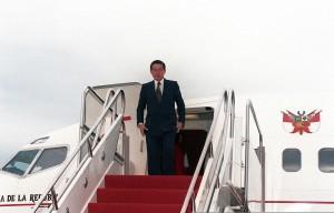V devadesátých letech se o obnovu země zasloužil Alberto Fujimori.