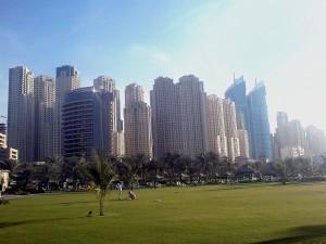 Dominantou Dubae je scenérie mrakodrapů. Autorem snímku je Haitham Alfalah.