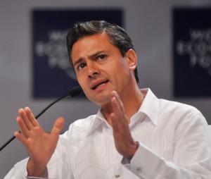 Prezident Enrique Peňa Nieto