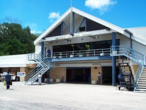 Letiště ostrovního státu Nauru.