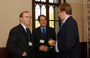 Kyperský prezident Nicos Anastasiades na jednání Evropské lidové strany.