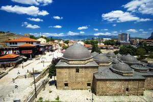 Historické centrum Skopje - hlavního města Makedonie