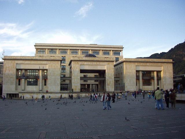 Budova soudu v Bogotě,