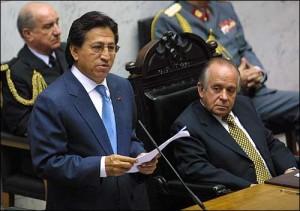 Prezident Alejandro Toleda od svého zvolení zlepšoval vztahy země s okolními státy. Autorem snímku je Adge.