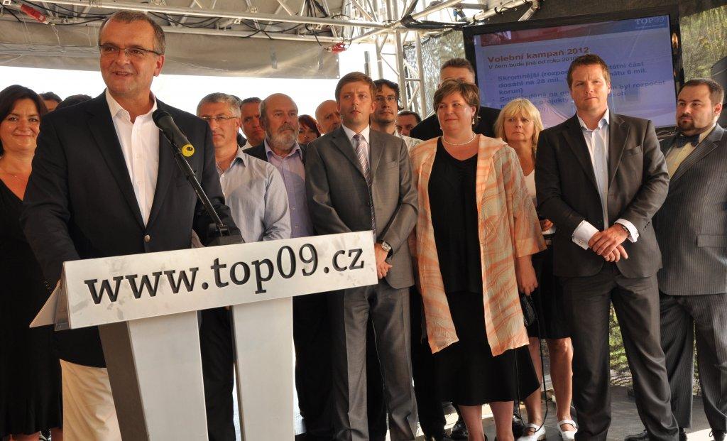 zahájení volební kampane (TOP 09)
